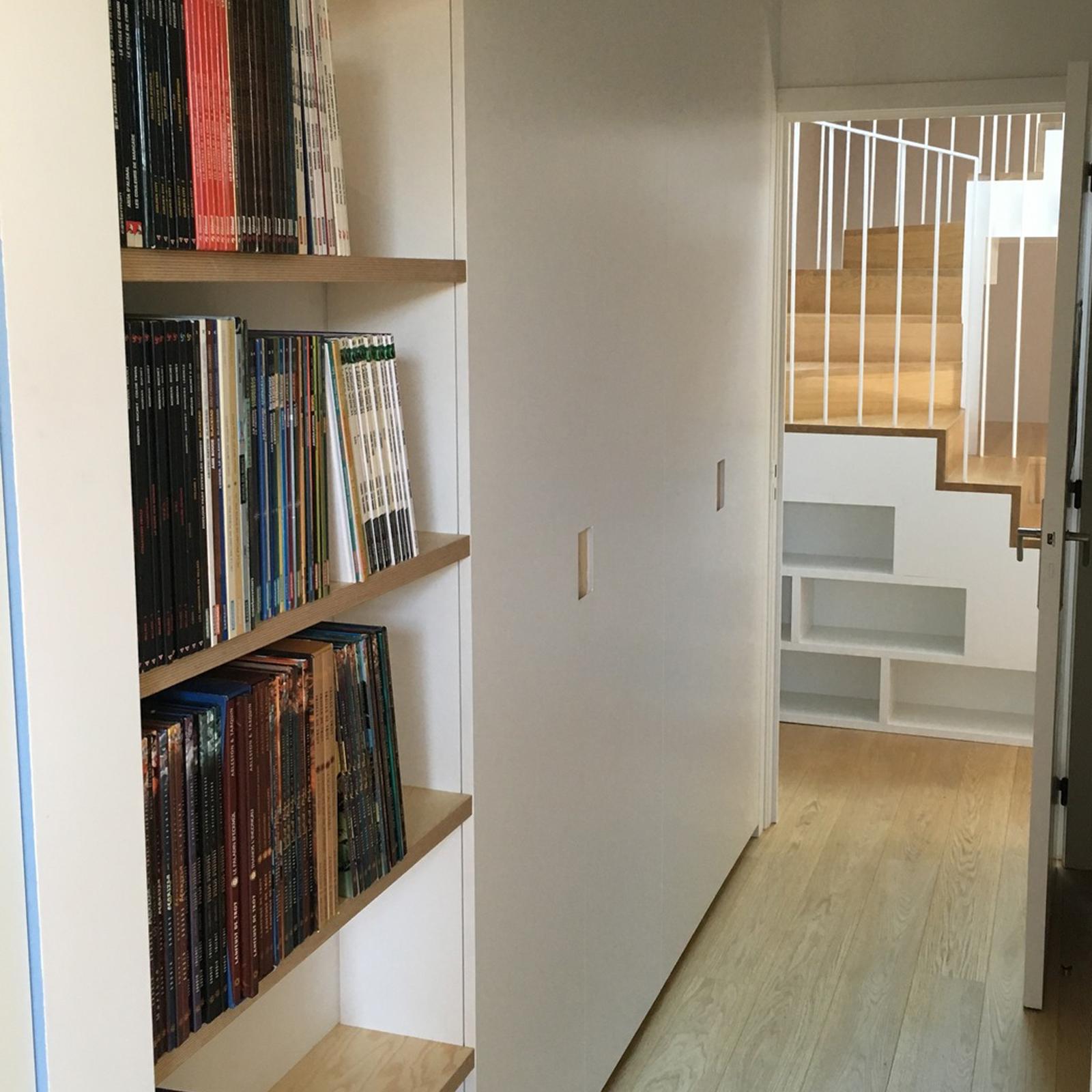 menuiserie wood id meuble sur mesure b nisterie etc. Black Bedroom Furniture Sets. Home Design Ideas